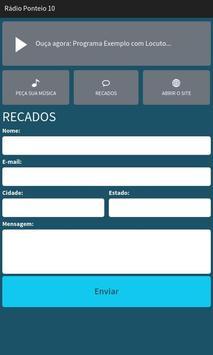Rádio Ponteio 10 screenshot 2