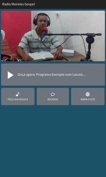 Rádio Meireles Gospel poster
