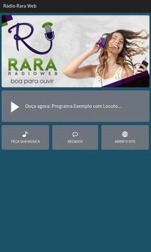Rádio Rara Web poster