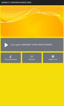 Samba E Companhia Rádio Web poster