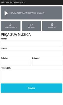 Melodia FM Cataguases screenshot 1