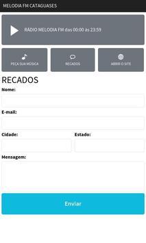 Melodia FM Cataguases screenshot 2