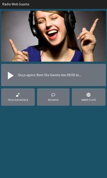 Rádio Web Gazeta poster