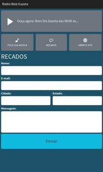 Rádio Web Gazeta apk screenshot