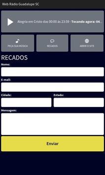 Web Rádio Guadalupe SC apk screenshot
