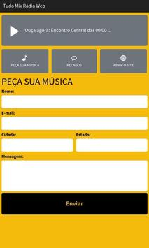 Tudo Mix Rádio Web screenshot 1