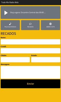 Tudo Mix Rádio Web screenshot 2