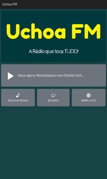 Uchoa FM poster