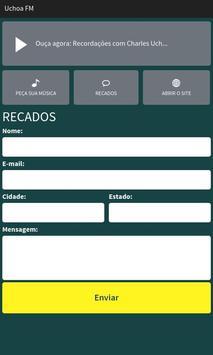 Uchoa FM apk screenshot