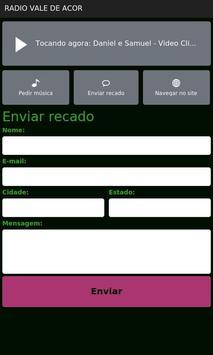 Radio Vale De Acor FM screenshot 1