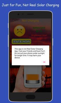 Solar Charger Prank apk screenshot