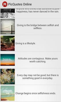 PicQuotes - Picture Quotes screenshot 3