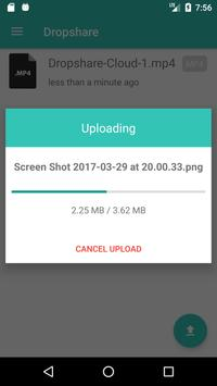 Dropshare for Android screenshot 1