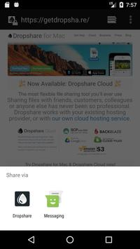 Dropshare for Android screenshot 4