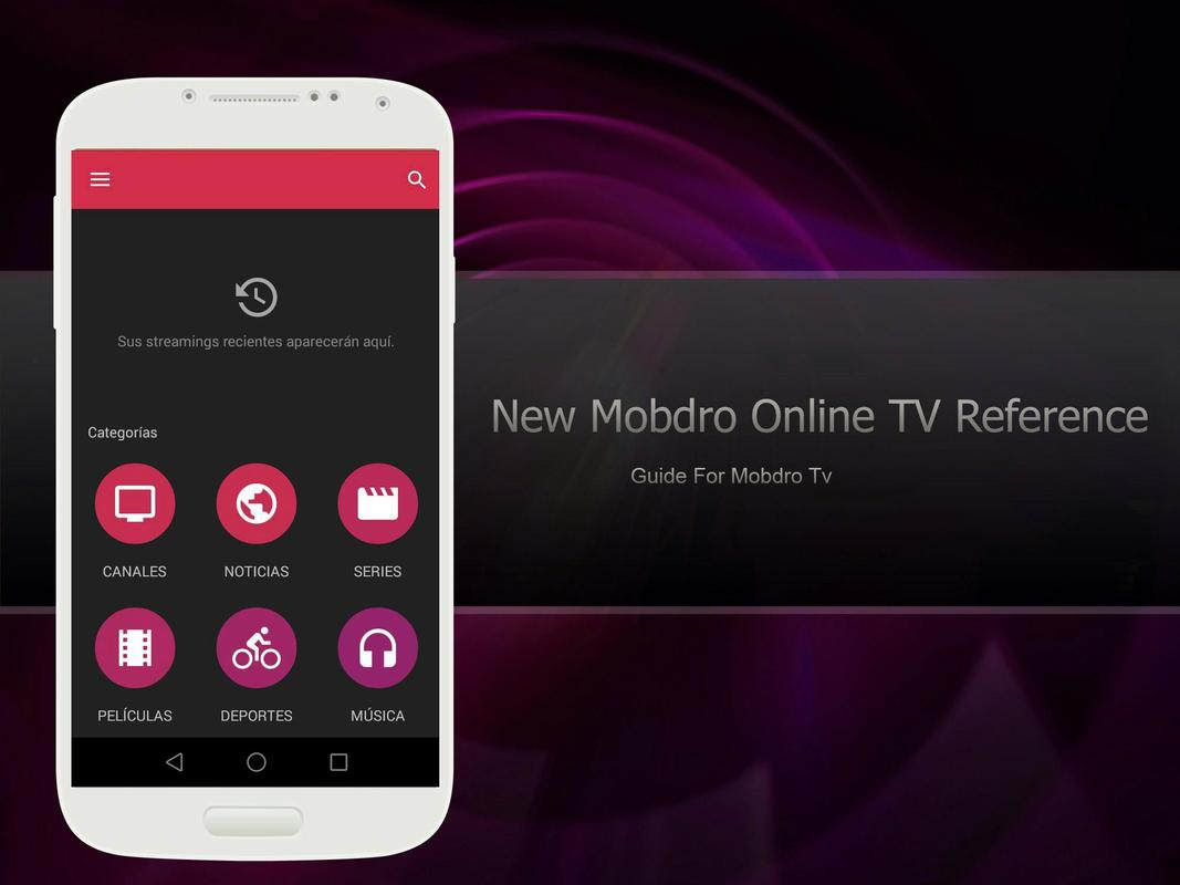 Mobdro for Android Download Official Mobdro