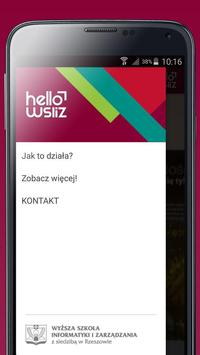 helloWSIiZ apk screenshot