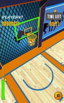 Flick Basketball Stars apk screenshot