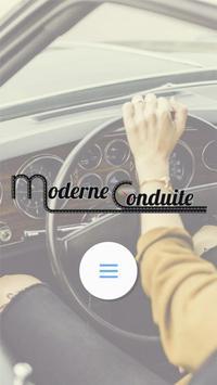 Moderne Conduite poster