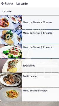 Restaurant La Marée screenshot 1