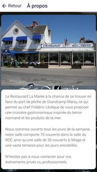 Restaurant La Marée screenshot 4