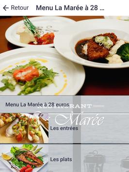Restaurant La Marée screenshot 6