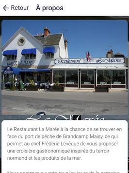 Restaurant La Marée screenshot 9
