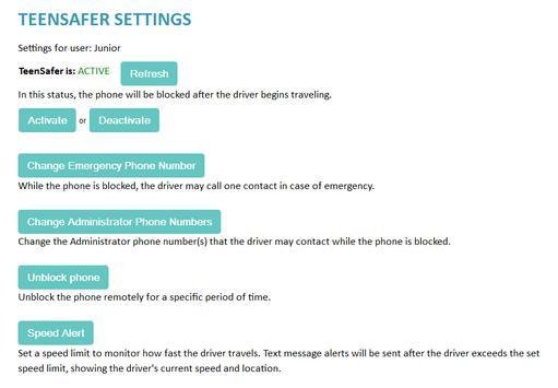 Teen-Safer screenshot 2