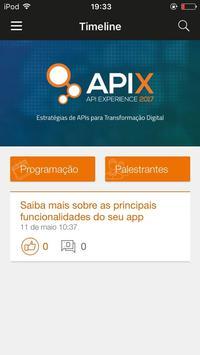 API Experience poster