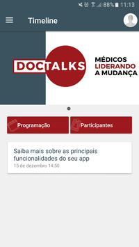 Doctalks poster