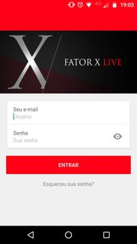 Fator X Live 2018 screenshot 1