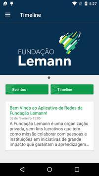 Redes - Fundação Lemann poster