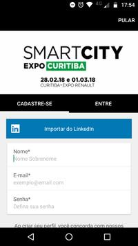 Smart City Expo Curitiba 2018 poster