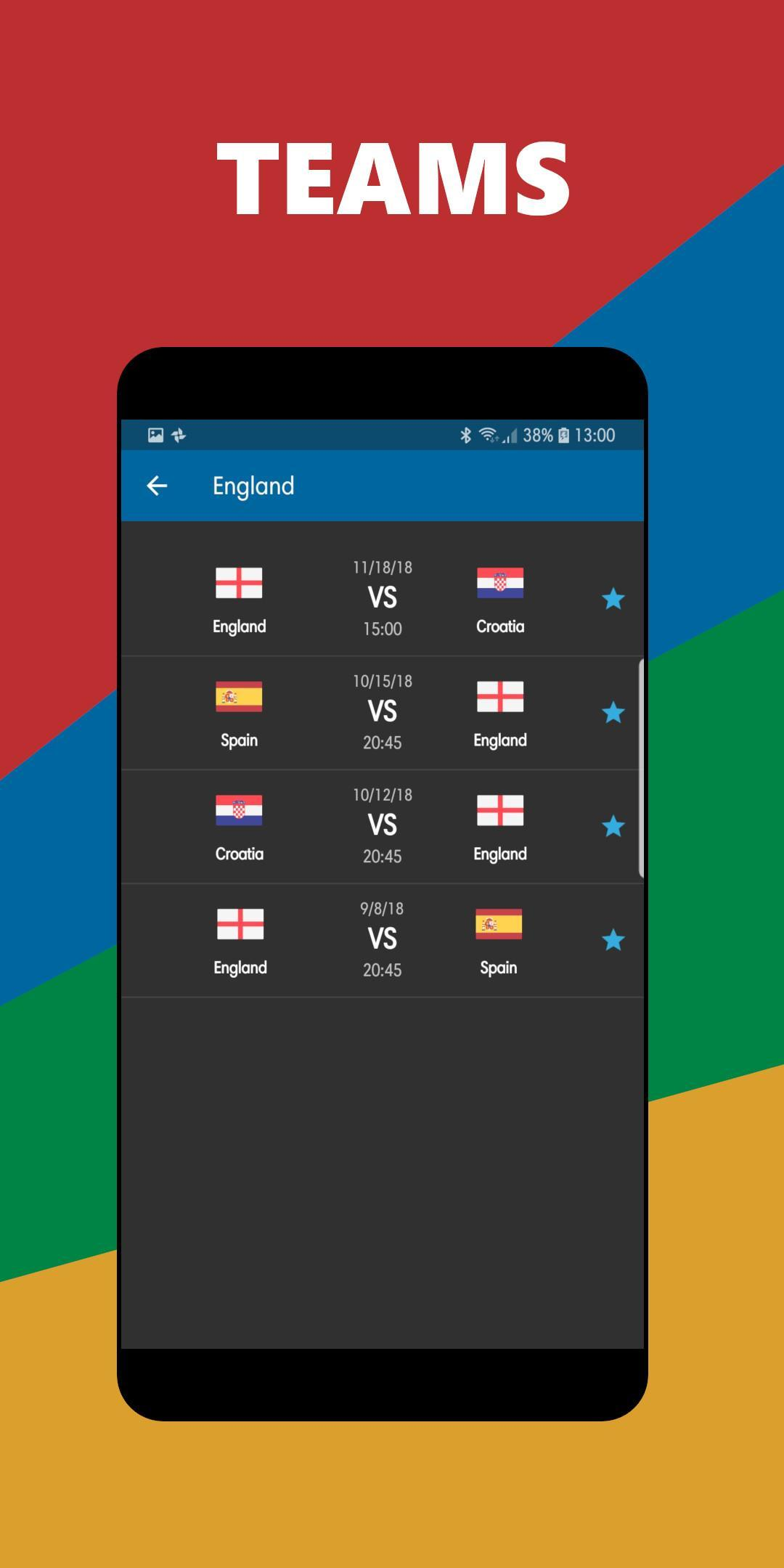 Euro Nations League Mobscores For Android Apk Download