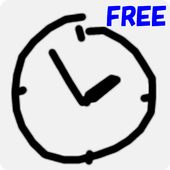 Graffiti Analog Clock FREE icon