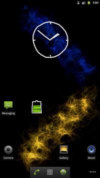 Graffiti Analog Clock FREE apk screenshot