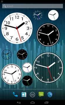Simple Analog Clock [Widget] poster