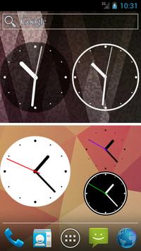 Simple Analog Clock [Widget] screenshot 1
