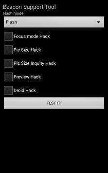 Beacon Support Tool screenshot 1