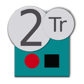Twotrack studio recorder icon