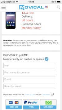 AT&T SIM Unlock - Mobile Phone USA & Mexico screenshot 2