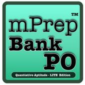 mPrep Bank PO/IBPS Quant(Lite) icon