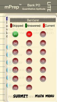 mPrep Bank PO/IBPS Quant(Lite) apk screenshot