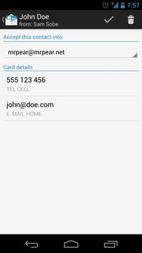 bizCard Manager FREE/MMS vCard for Android - APK Download