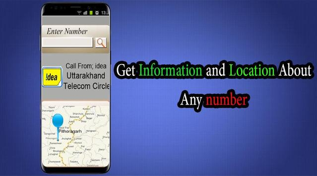 Location Mobile Numbers Tracker 2019(Sim Details) screenshot 1