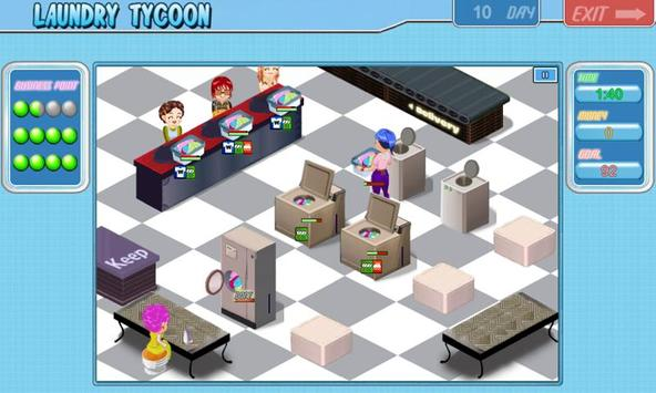 Laundry Tycoon HD Lite poster