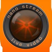 nanoStream Live Player icon