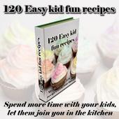 120 Easy kid fun recipes icon