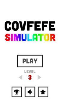 Covfefe Simulator poster