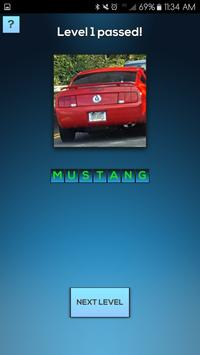 Car Quiz Game For Enthusiasts poster