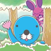 ぼのぼの しまっちゃうおじさんの森 〜一筆書き脳トレゲーム〜 icon